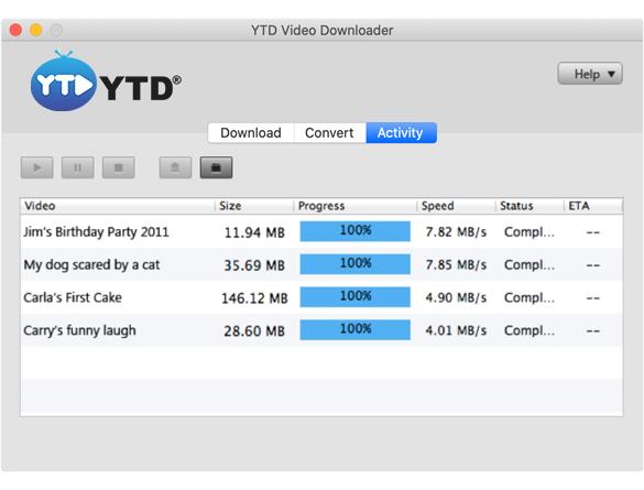 YTD Download Video Playlist